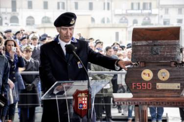 C.N. EmiliaRomagna  Avv. Bortolotti Consegna lo scrigno di custodia