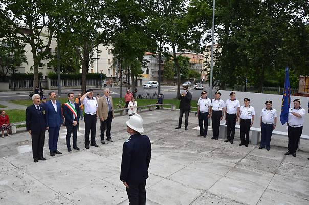 Inagurazione Monumento alla Memorina del Marinaio