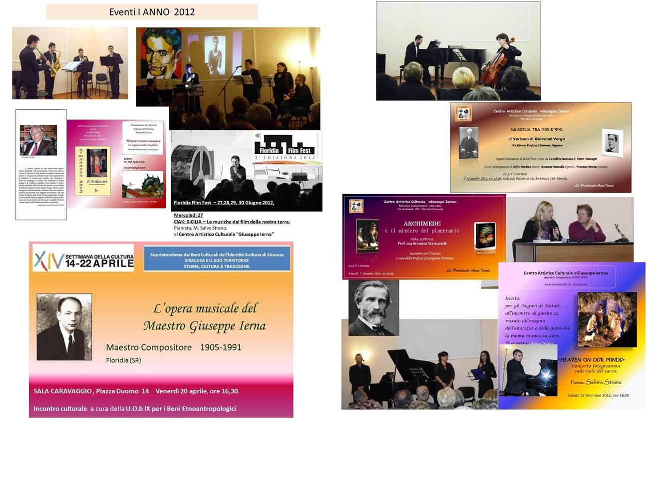 Eventi al 2012