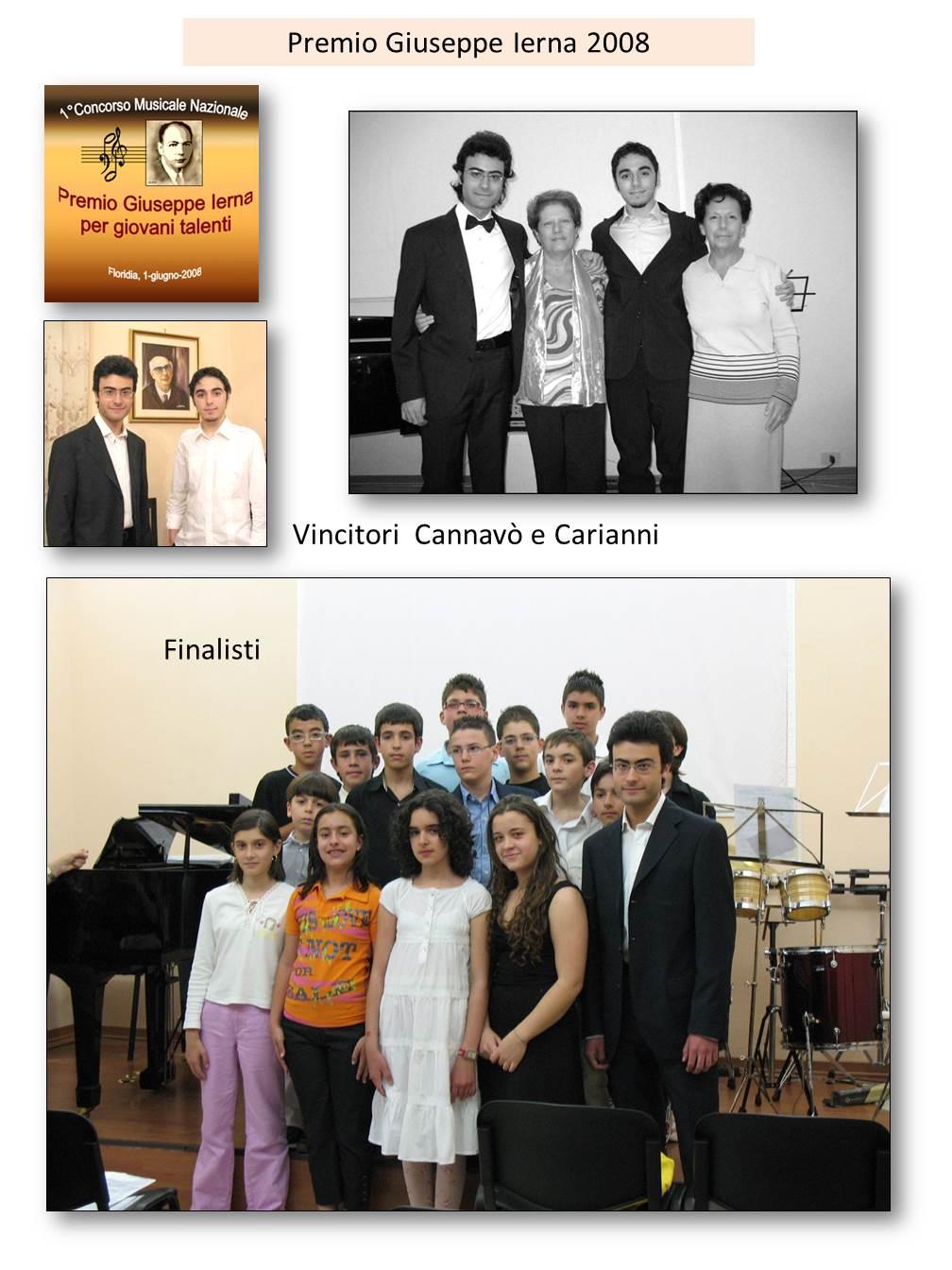 1� Premio Giuseppe Ierna