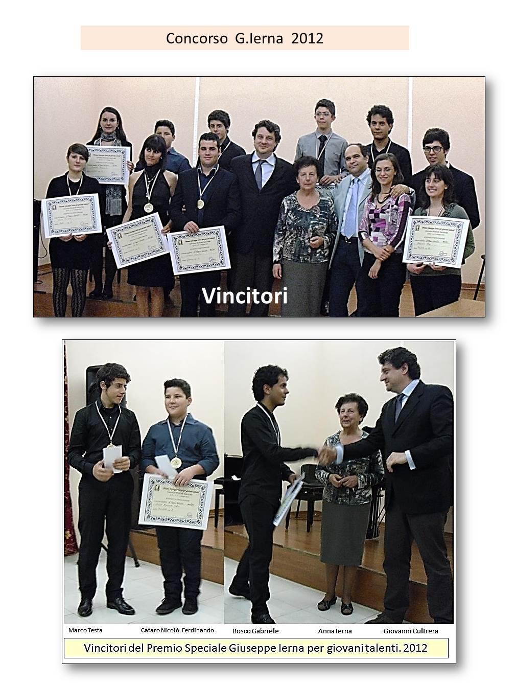 Premio G.Ierna 5� Ed.