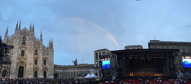 Concerto La Scala Piazza Duomo Milano