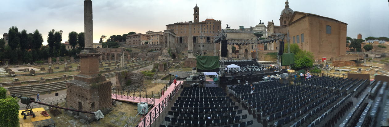 Music For Mercy Fori Imperiali Roma