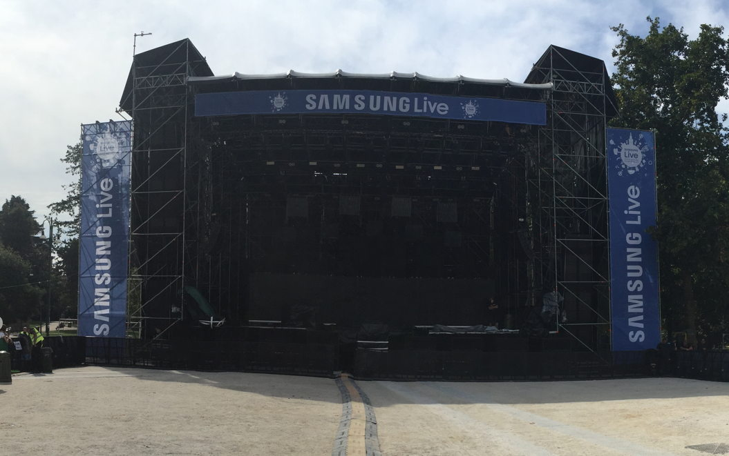 Concerto Negramaro Samsung Event Parco Sempione Milano