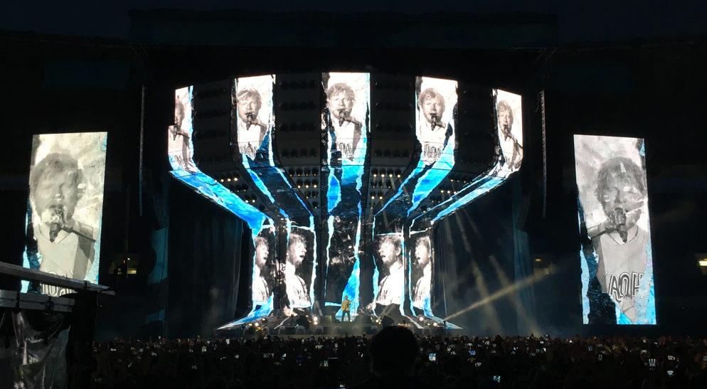 Ed Sheeran Stadio Olimpico Roma