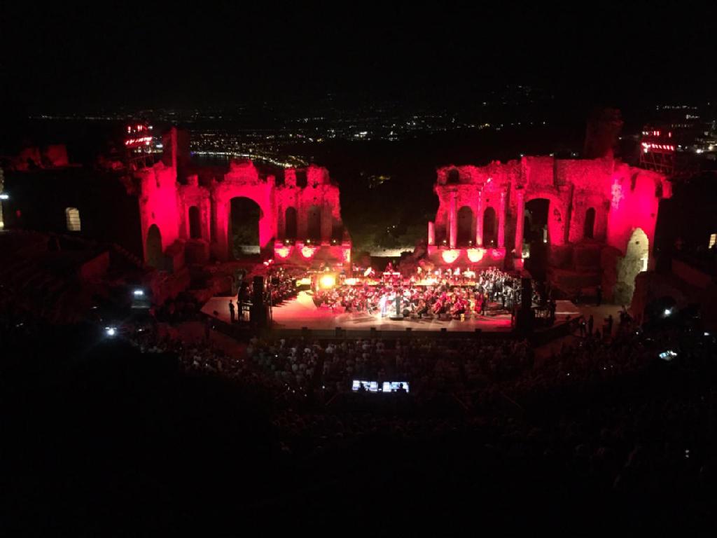A. Bocelli Teatro Greco Taormina