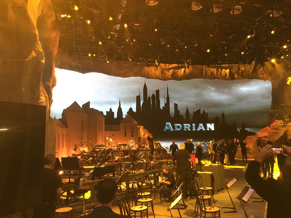 Adrian TV Show Milano Studio Teatro Le Robimie