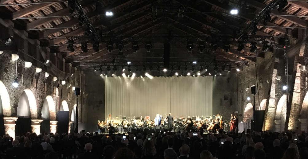 RCF 70� Years Anniversary Concerto Andrea Bocelli Venezia Padiglioni Arsenale