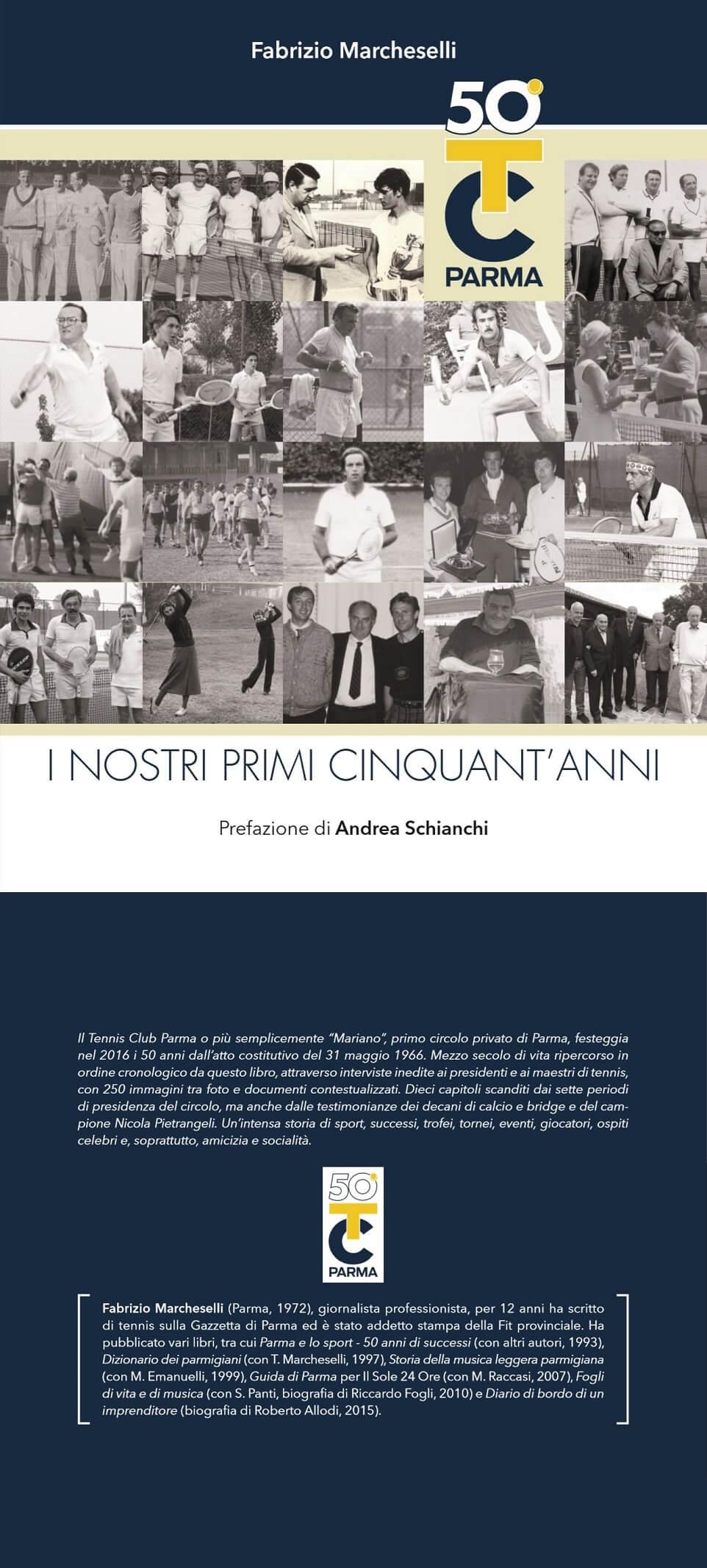 «50º Tc Parma - I nostri primi cinquant'anni»