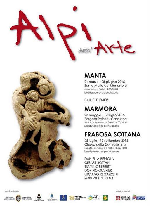 MOSTRA ALPI DELL'ARTE 2015 FRABOSA SOTTANA