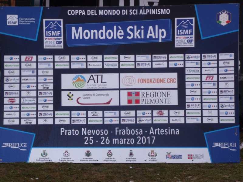 WORLD CUP 2017 SCI ALPINISMO PRATONEVOSO