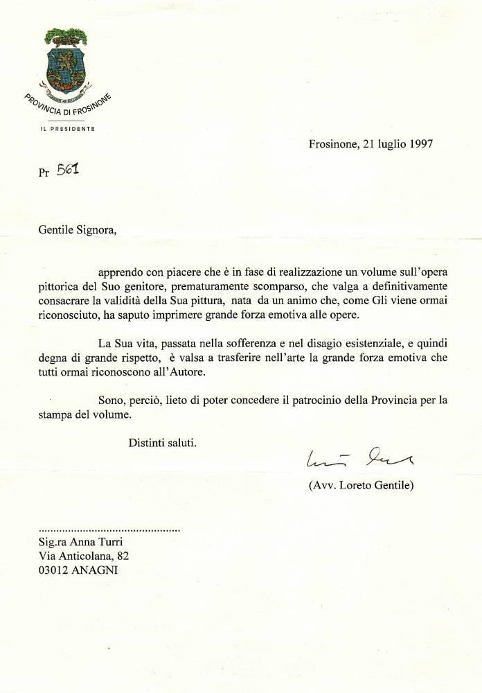 Patrocinio Provincia di FR