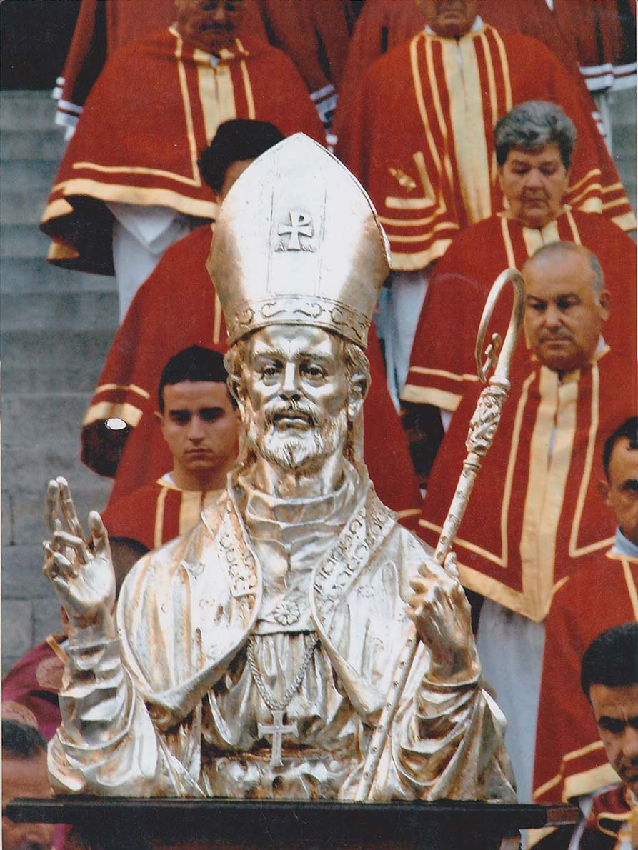 San Giustino mezzo busto