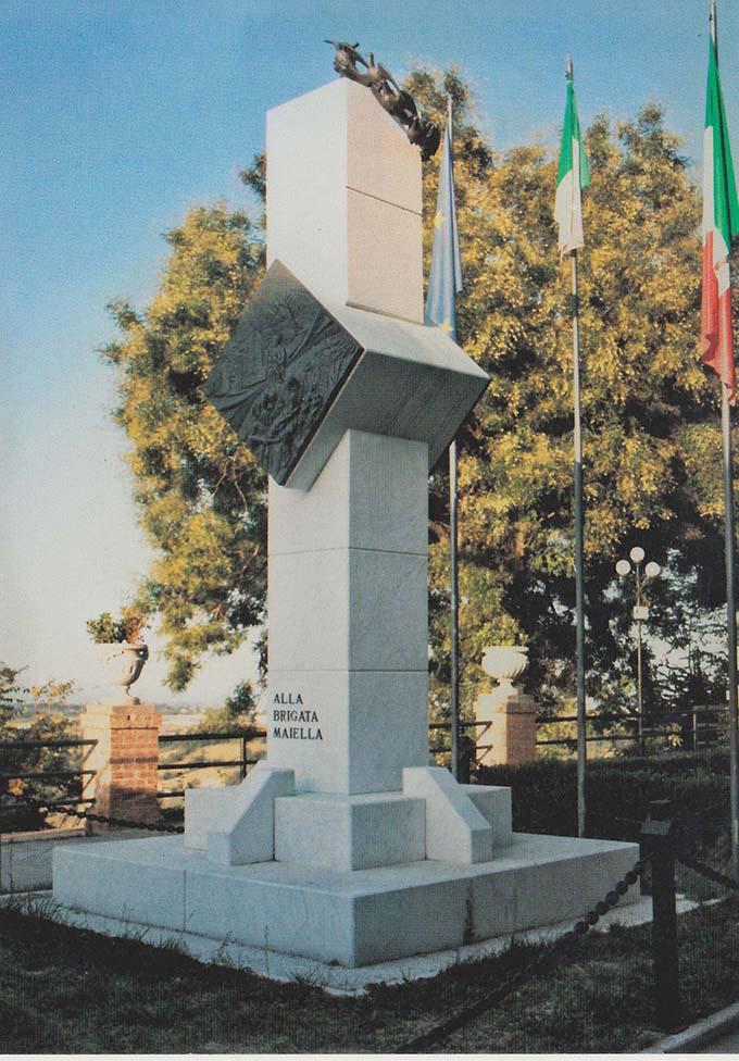 Monumento alla Brigata Maiella