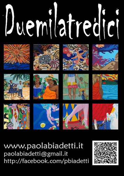 YouTube:Calendario 2013 di Paola Biadetti -La mia slideshow