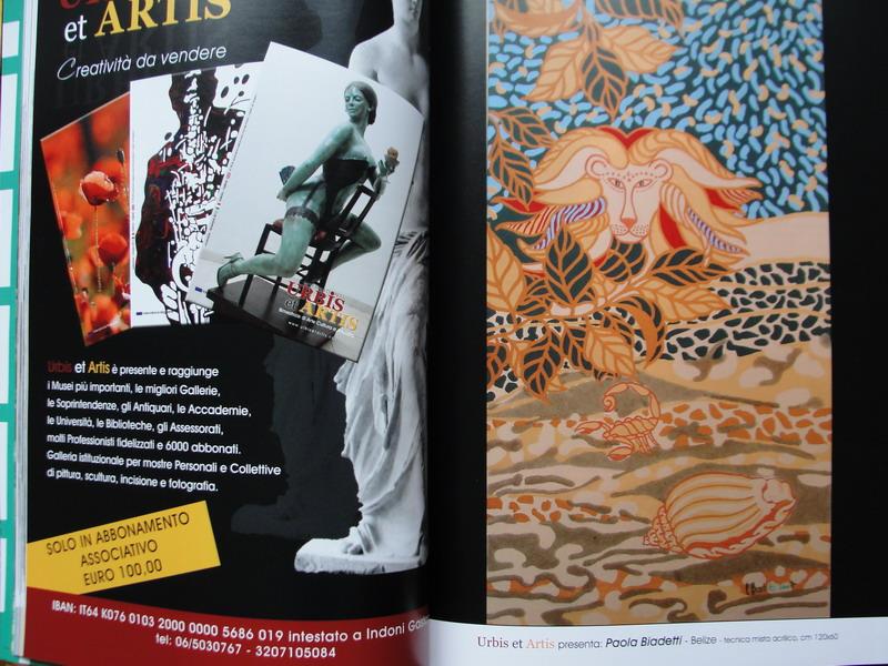 Rivista Urbis Et artis