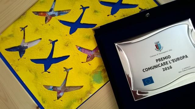 Premio comunicare L'Europa 2016 Vola L'Europa di Paola Biadetti