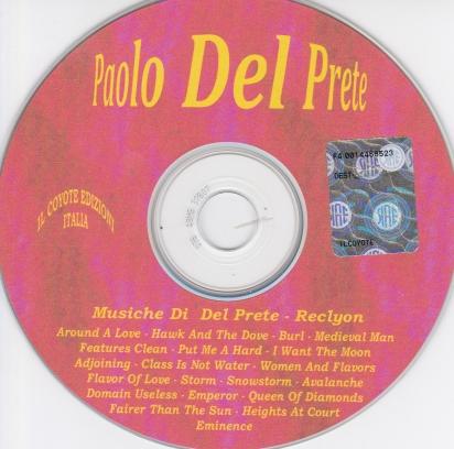 PAOLO DEL PRETE - CD