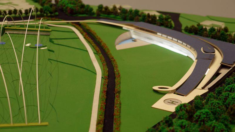 Golf Club Udine - Modello in scala 1:500