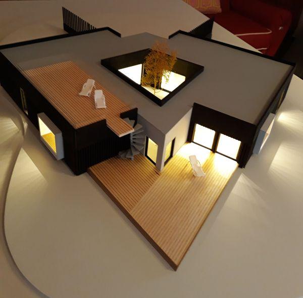 modello scala 1:50 illuminato per MAPLA