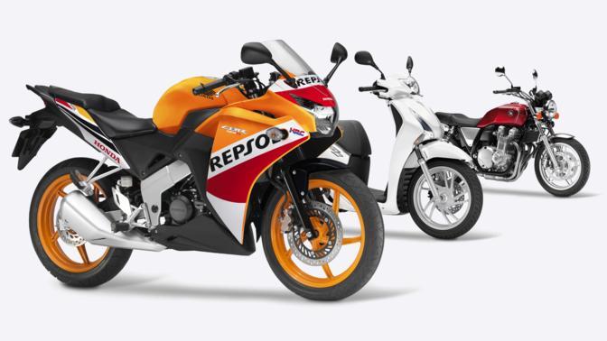 Olio per moto e scooter