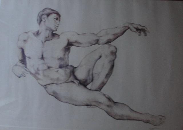 I nudi 2-omaggio a Michelangelo