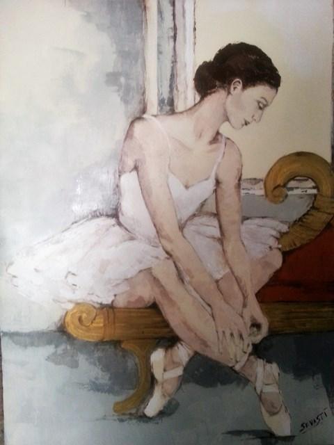 BALLERINA SEDUTA