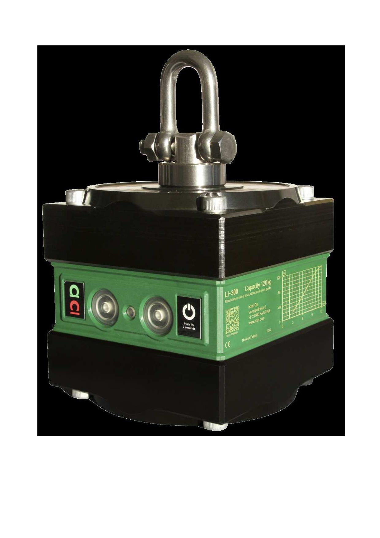 Sollevatore magnetico automatico IXTUR LI-120