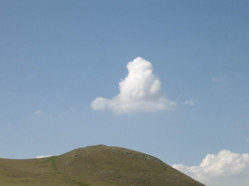 Monte e nuvola