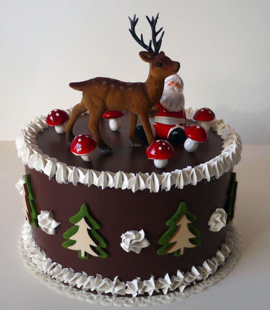 Christmas Cake - Torta di Natale finta