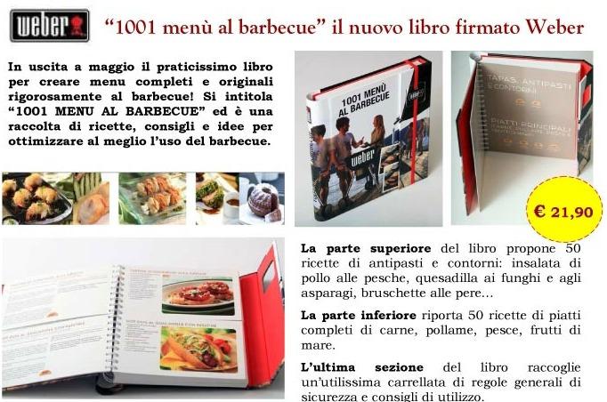 Libro 1001 MENU' WEBER