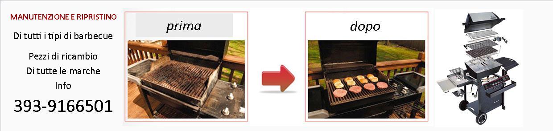 manutenzione barbecue