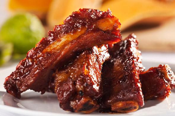 smoked ribs
