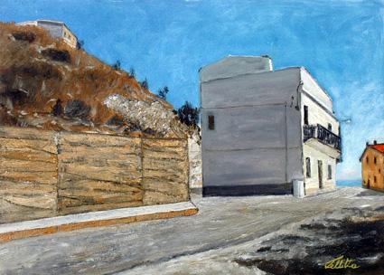 La casa dove abitavo a Rotondella